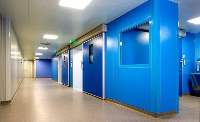 Hình ảnh sản phẩm cửa tự động bệnh viện