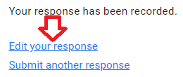 IMPORTANT: AFTER completing this form and finishing your run, please 'Edit your response' to update your Miles completed.