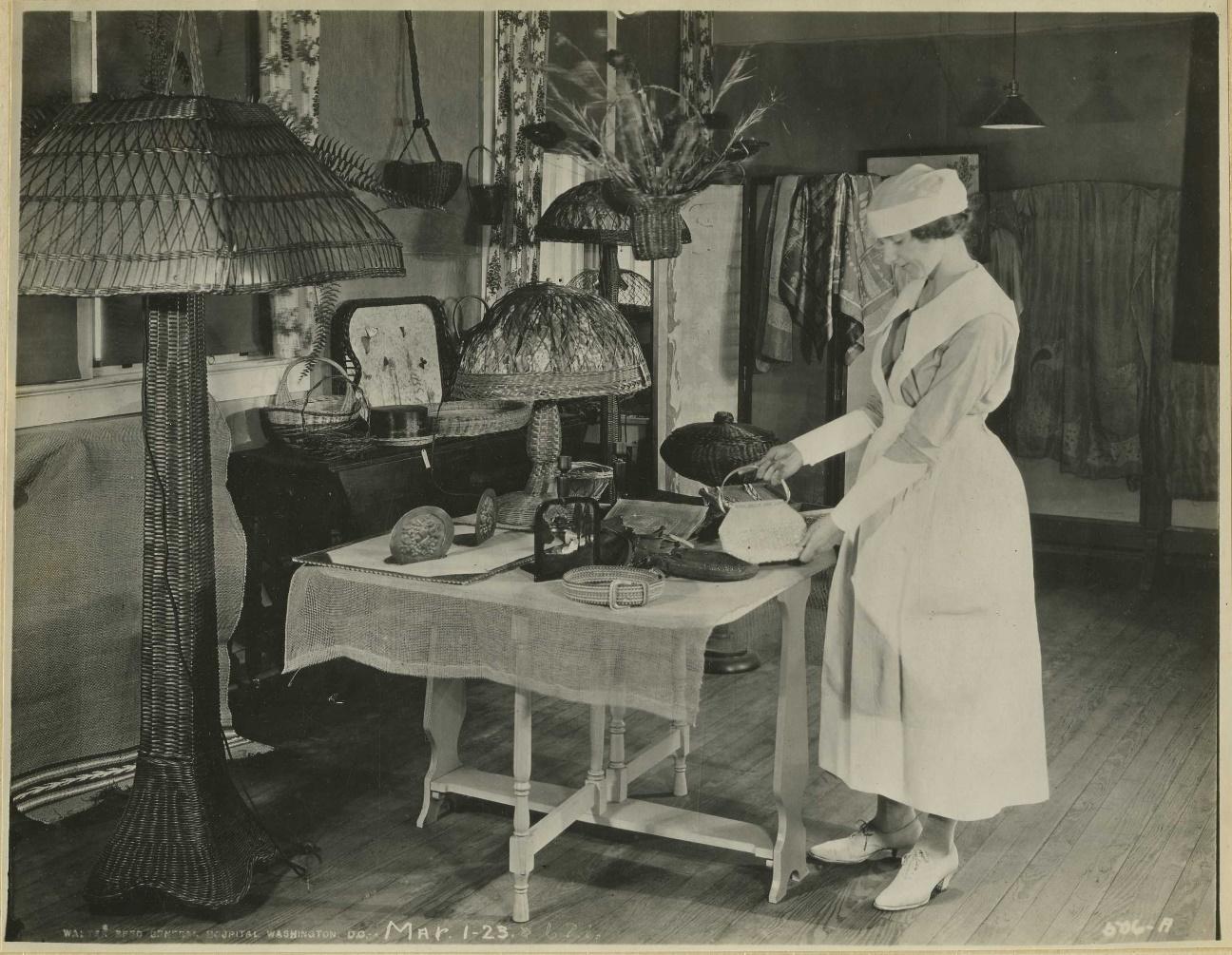 Uniformes de enfermería antiguos