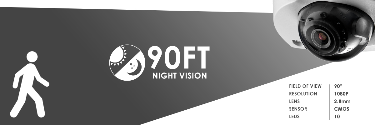 LEV2750AB night vision range