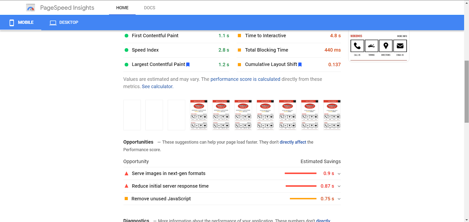 How to fix LCP issues in search console