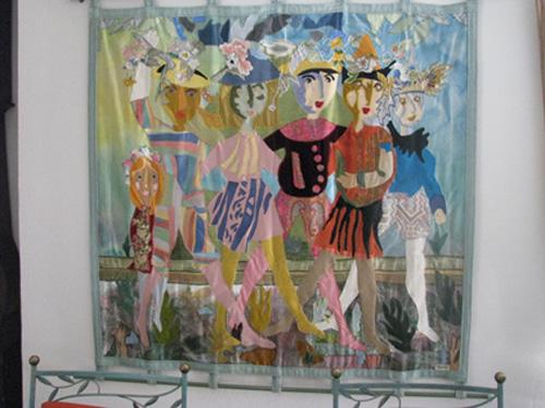 Копія гобелену Нижник-Винничків «Дитячий кортеж», зроблений на замовлення п. Мотю
