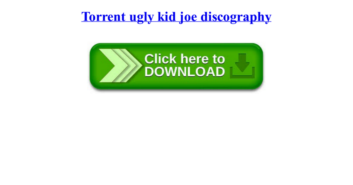 torrent ugly kid joe discography