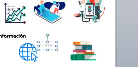 cómo hacer una infografía rápida en Word cuadro de texto