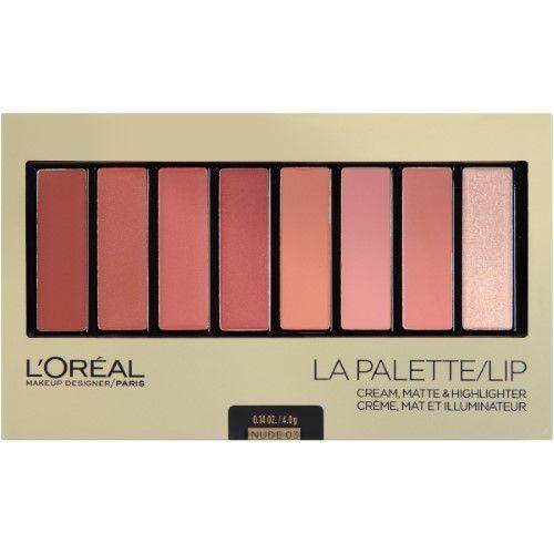 LOreal Paris Colour Riche La Palette Lip, Nude, 0.14 Oz, Beige
