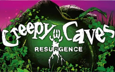 creepy caves resurgence logo