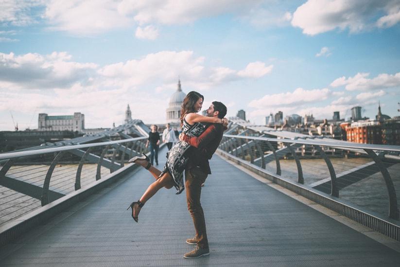 The destination Valentine's day proposal