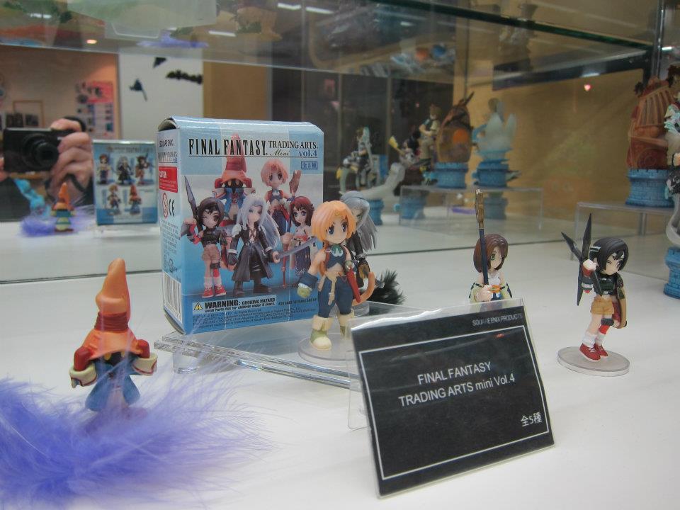 Square Enix Store Tokyo, Games Freezer