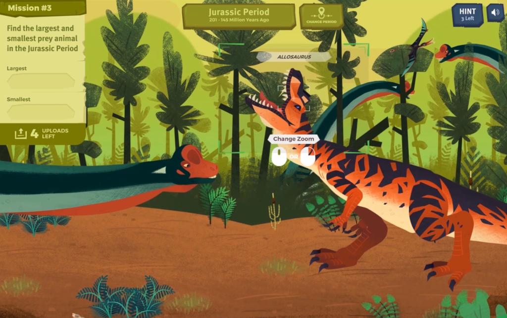 Mission to the Mesozoic screenshot