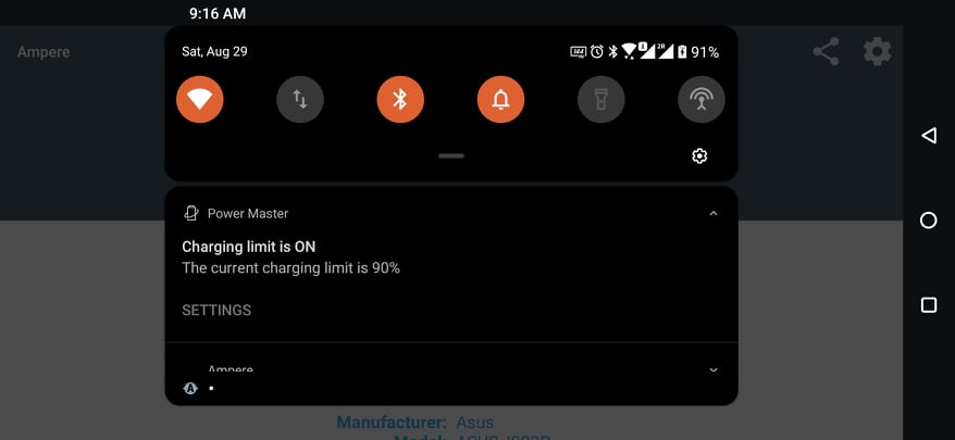 ASUS ROG Phone 3 battery limit feature