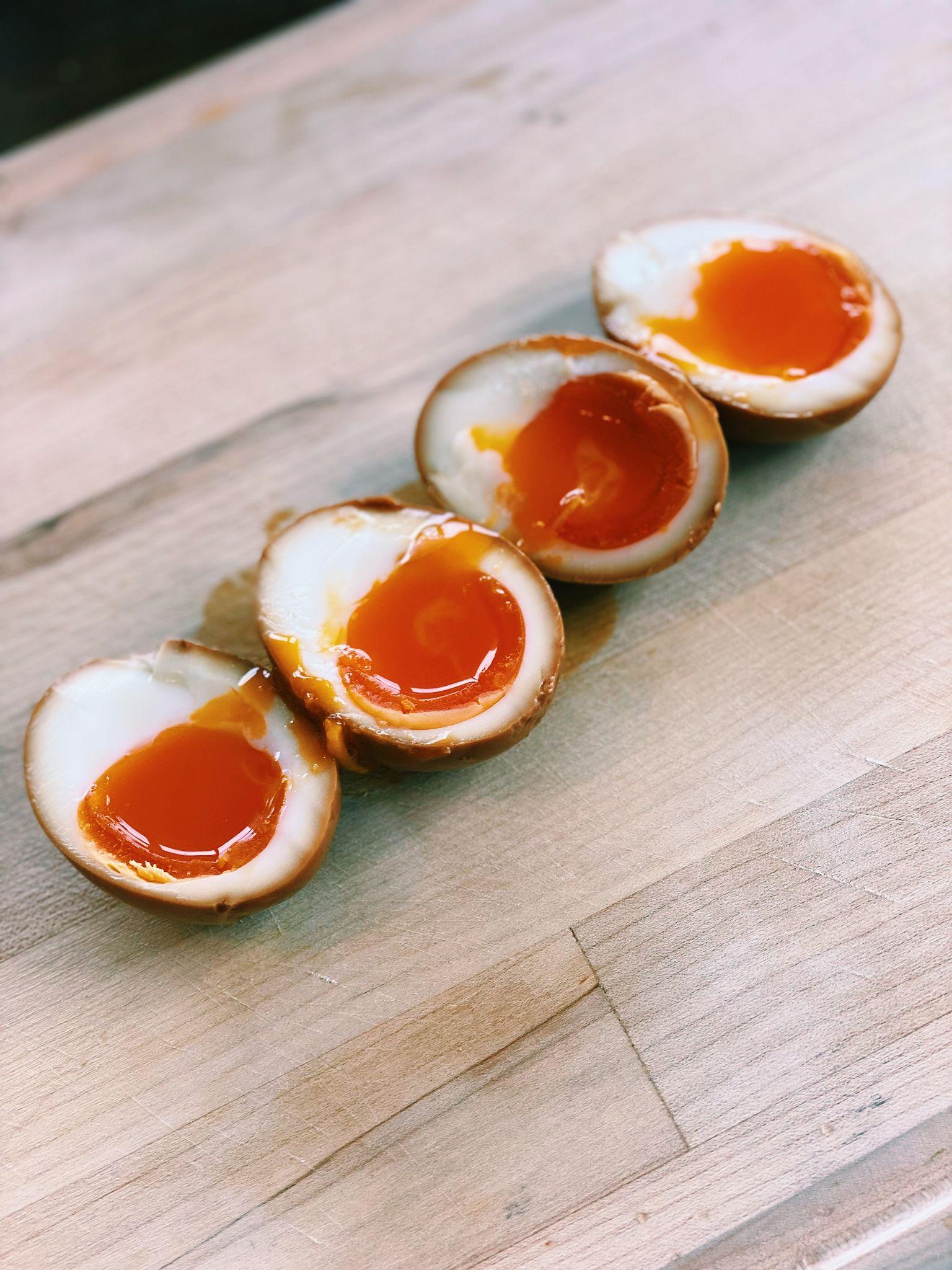 hard boil yolk egg