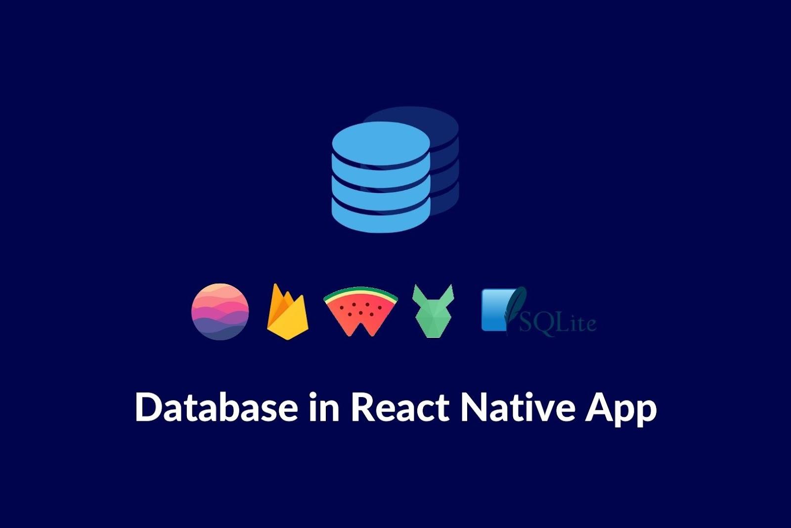 react native database