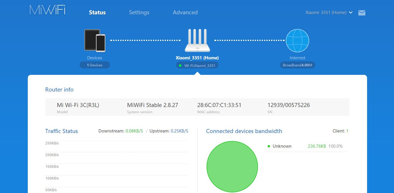 How to Flash Firmware in Mi Router 3C Manually - Mi Router