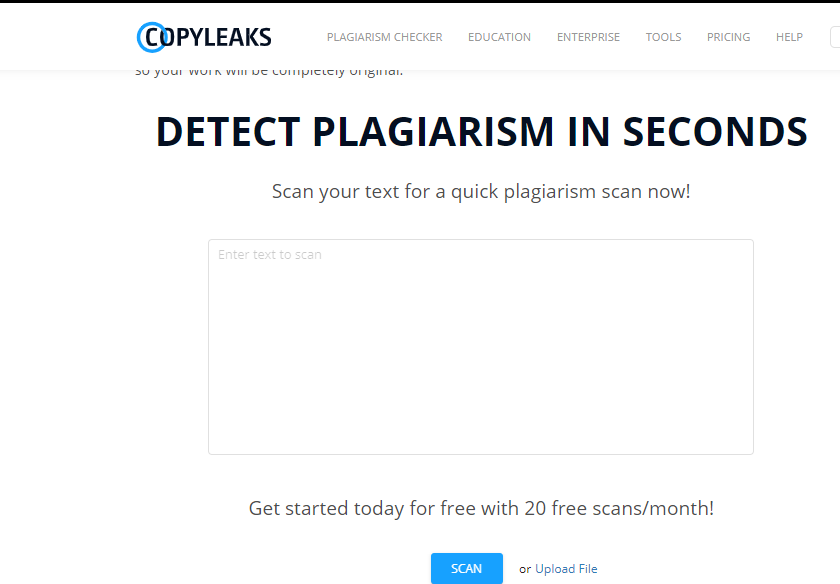 copyleaks, Best Online Plagiarism Checker Tools for Bloggers