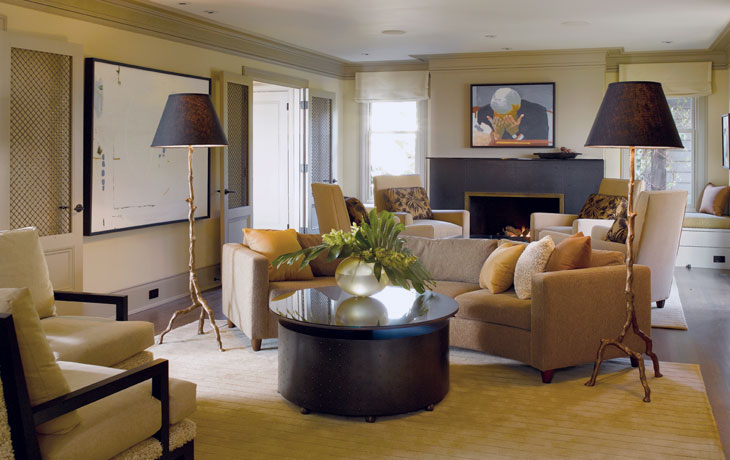 How to Decorate a Transitional Living Room - HotPads Blog