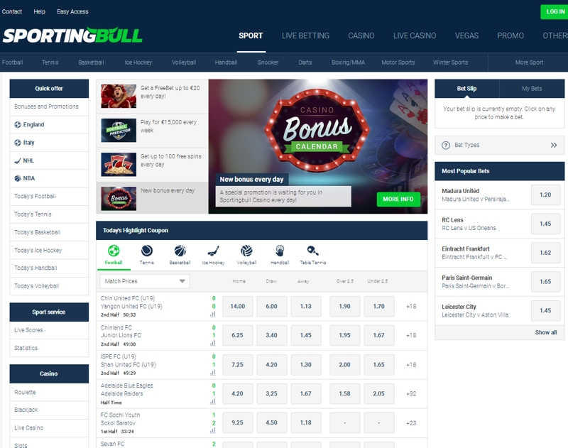 БК Sportingbull: реальные отзывы и детальный обзор