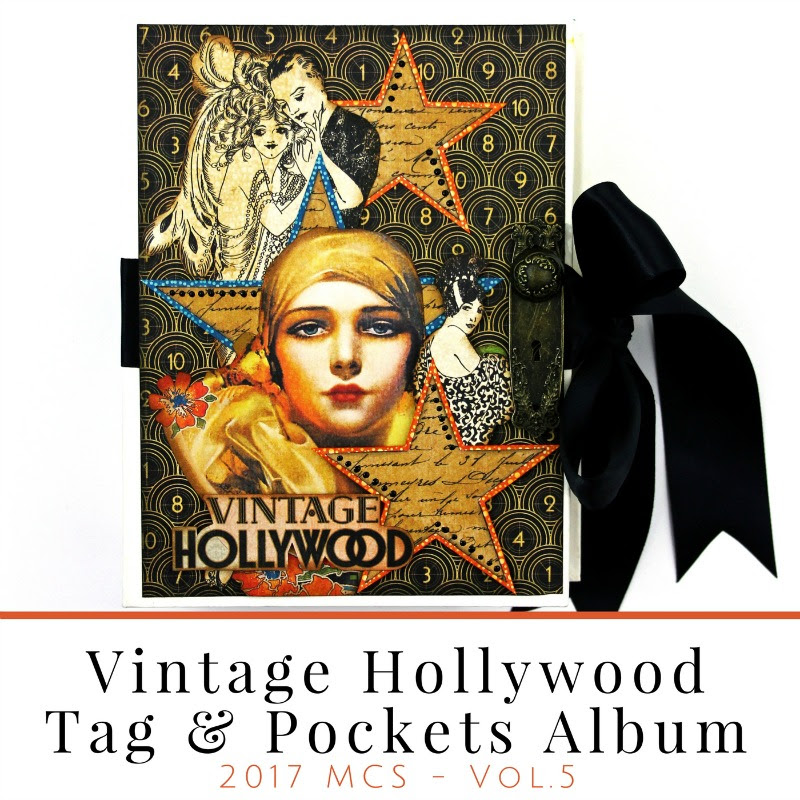 Vintage Hollywood, Rectangle Album, Graphic 45, project sheet.jpg