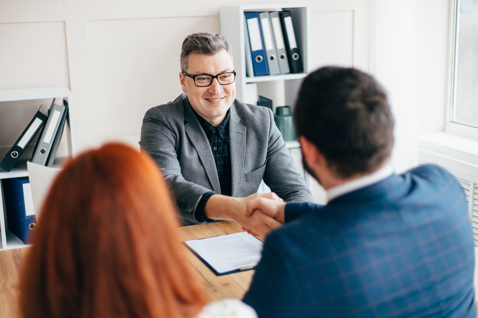 meeting with a construction defect lawyer