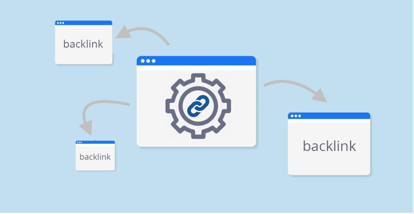 Các link liên kết giữa Các backlinks và trang web