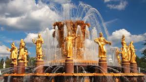 "Fountain ""friendship of Nations"" in Stock Footage Video (100% Royalty-free)  4414313 