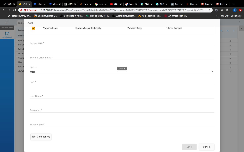 VMware vCenter   CloudFabrix Documentation