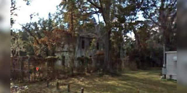 The old Gilchrist County Jail in Trenton, Fla.
