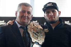 UFC's Khabib posts heartfelt message after father Abdulmanap's death –  'hope you were pleased with me' | South China Morning Post