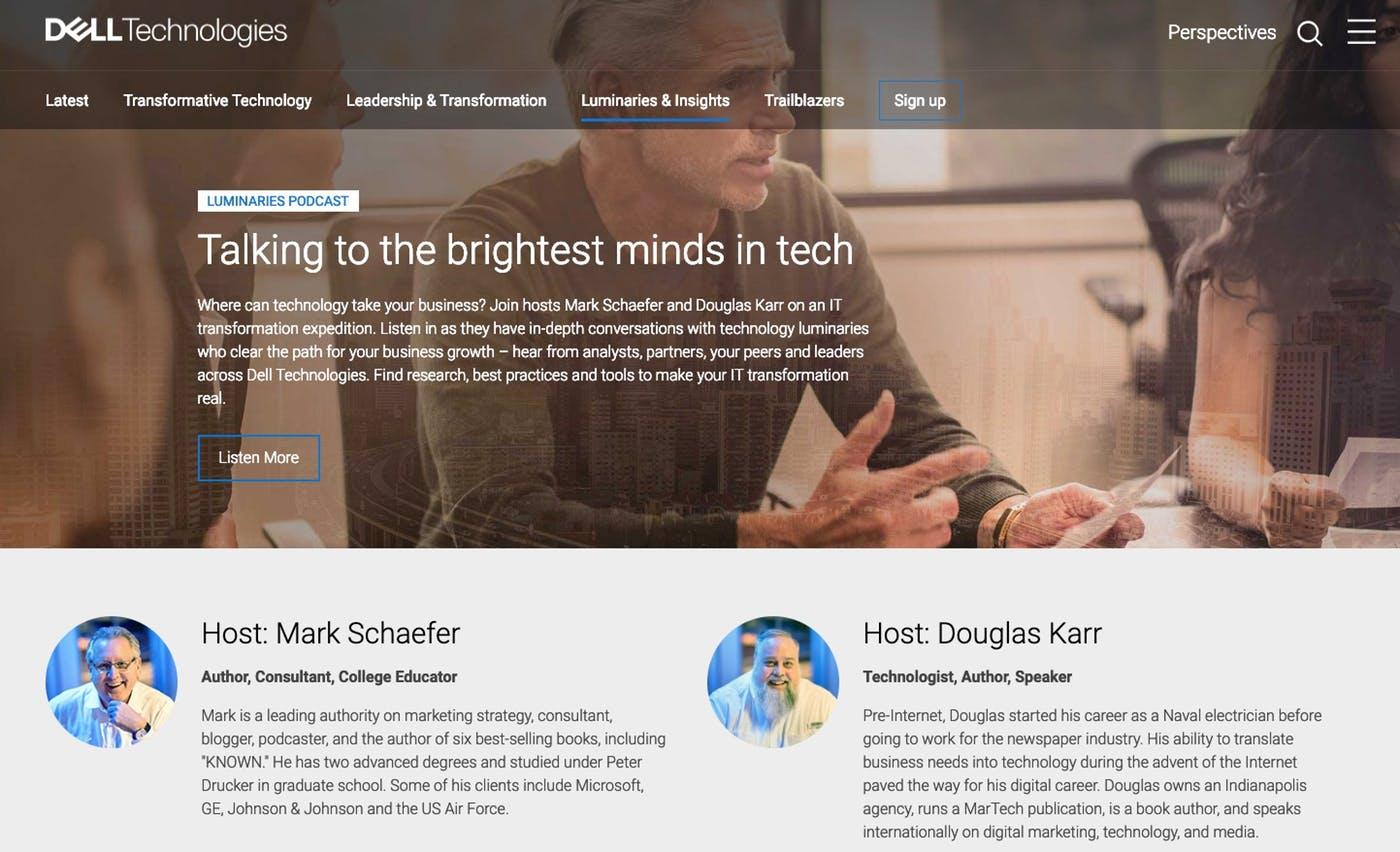 Dell partners with industry influencers