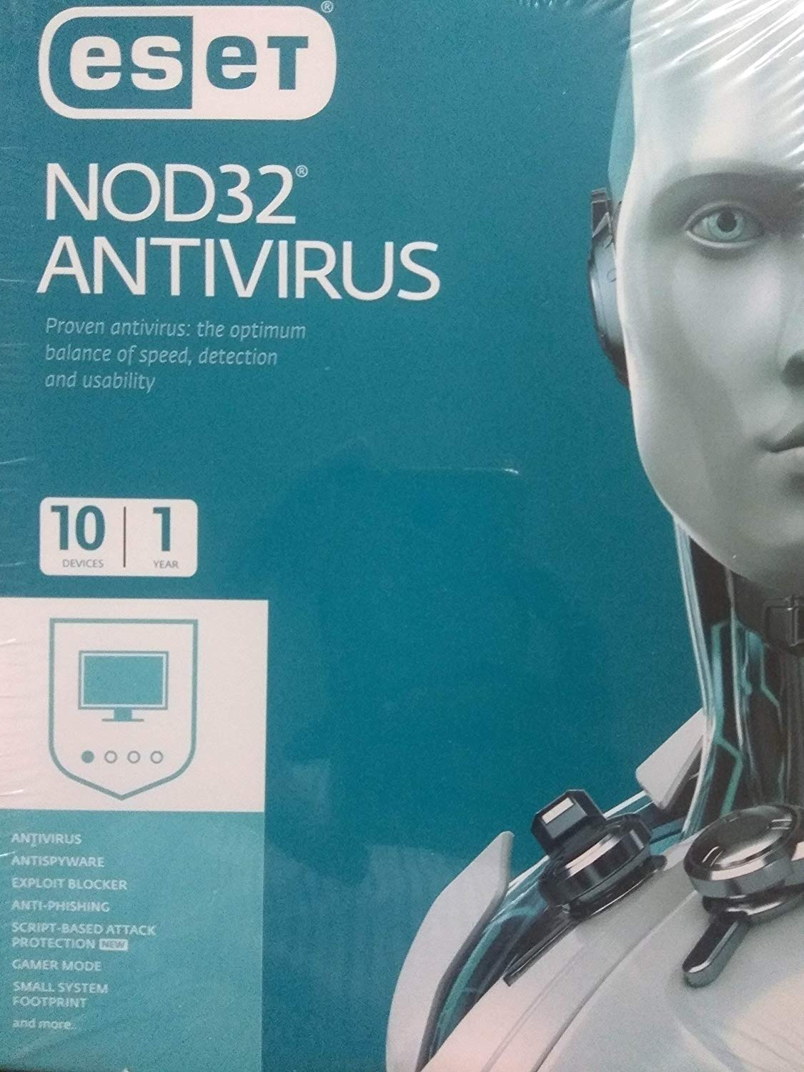 ESET NOD32 Antivirus- 10 devices