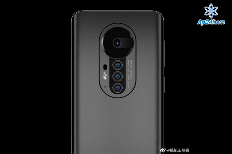 Honor Magic 3 đi kèm với bốn camera selfie ở mặt sau.