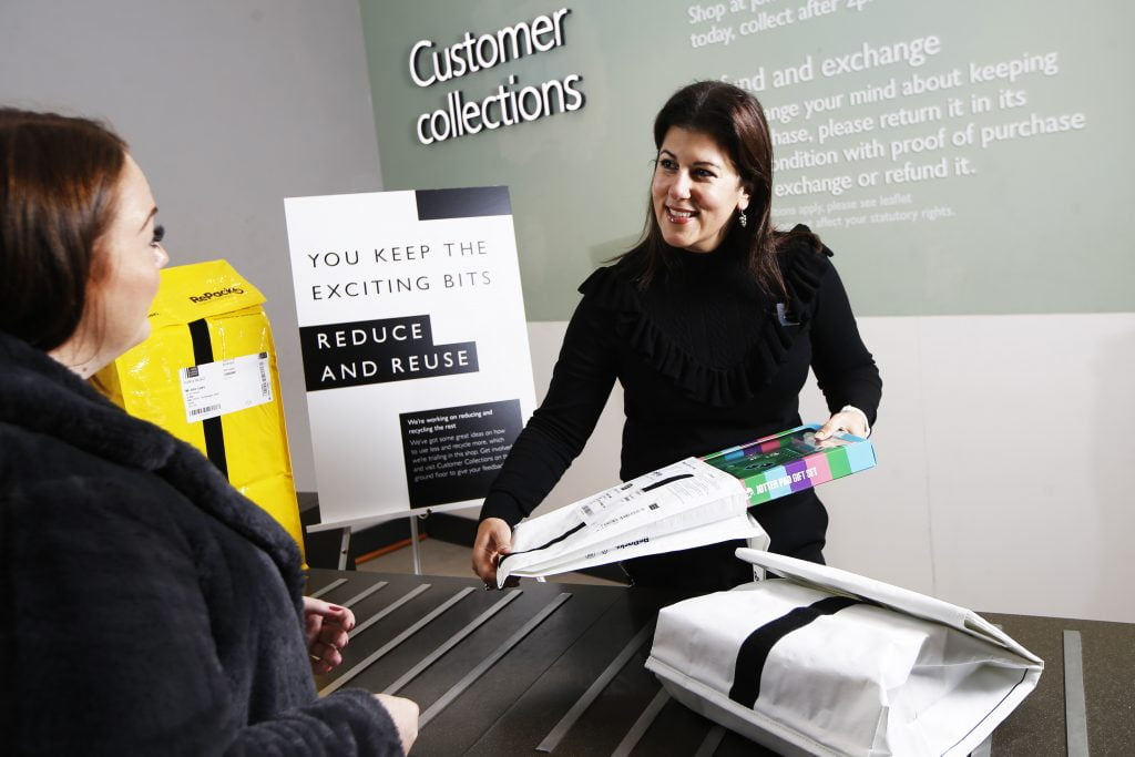 Improve your Click and Collect offering with reusable packaging