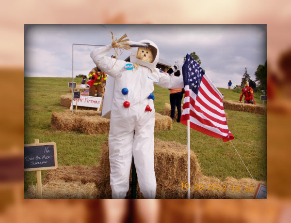 Annual 2014 Scarecrow Festival in Cross Creek Ranch Fulshear Texas