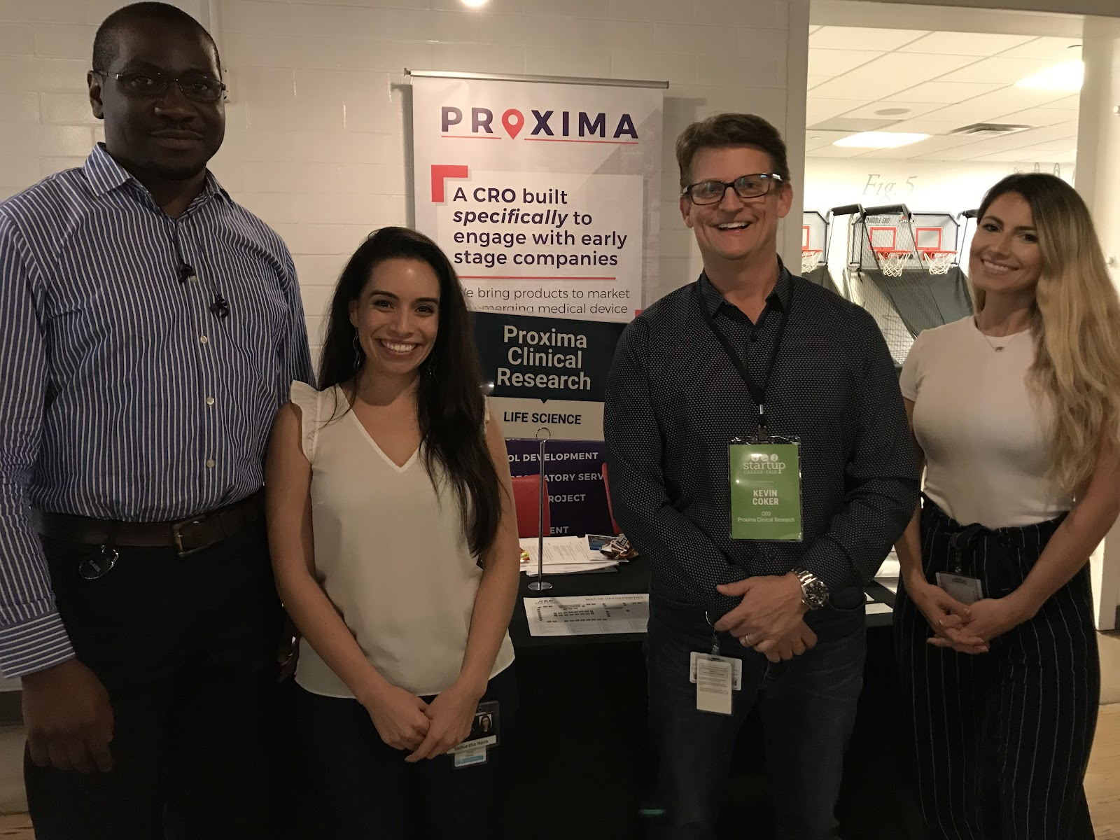 Proxima Clinical Research's team gathers for a group photo