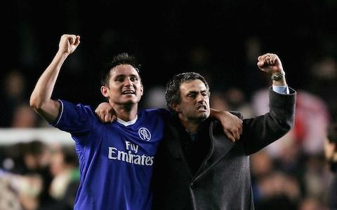 Image result for mourinho lampard