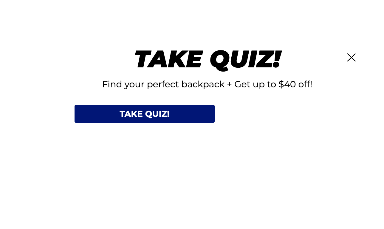Example of Brevite's pop-up to promote their quiz
