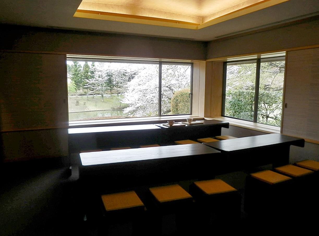川村美術館茶室