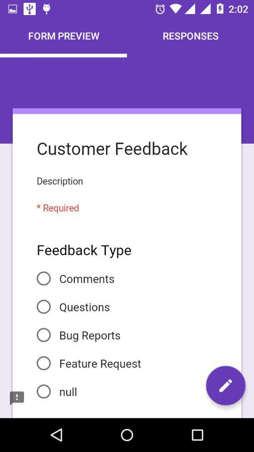 create-google-forms-android