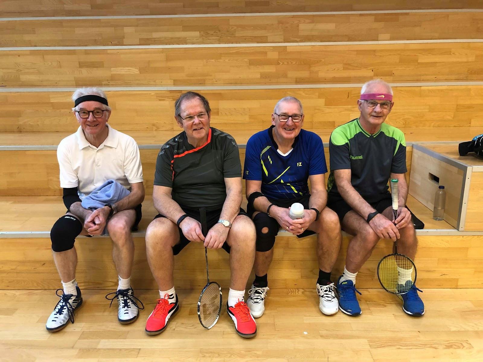 Her ses blandt andet Ingemann og tre af hans holdkammerater