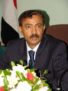 الاستاذ عبدالرحمن محمد الاكوع رئيس اللجنة الاولمبية