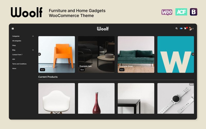 Fastest WooCommerce themes - Woolf