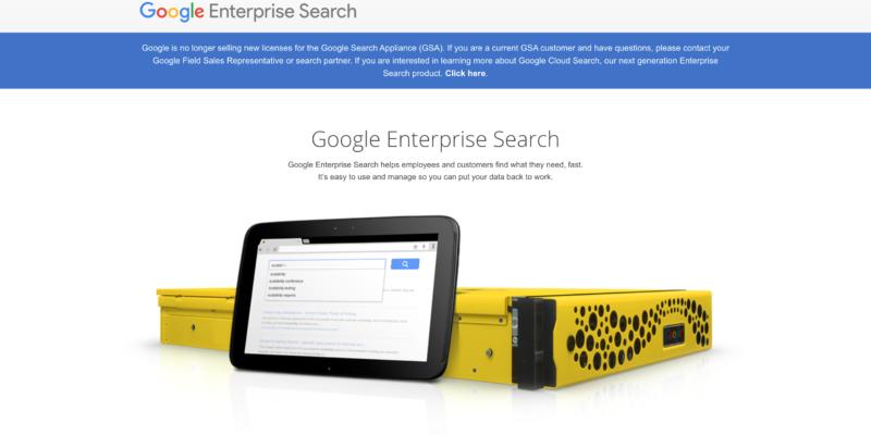 Google Site Search альтернатива поиску для веб-сайтов