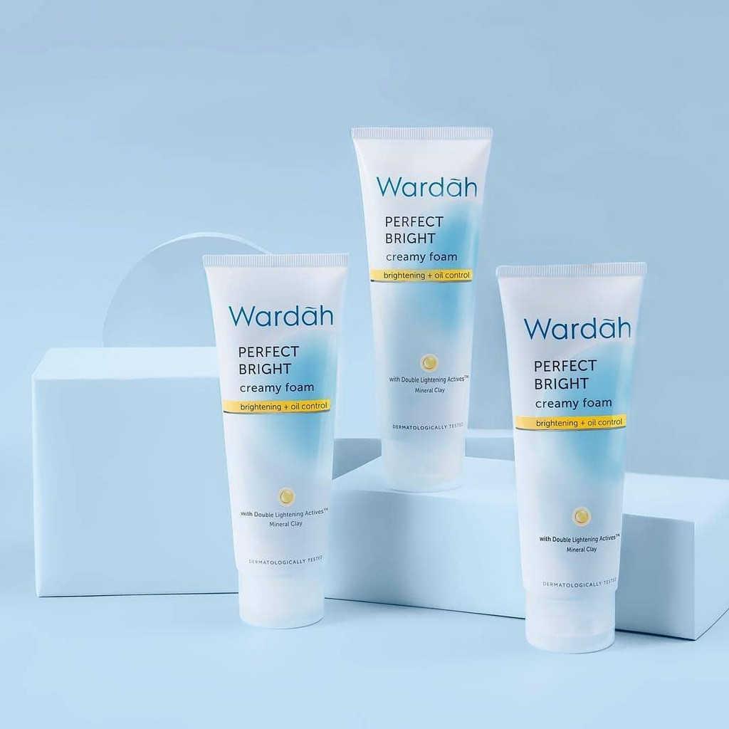 Wardah Perfect Bright Creamy Brightening + Oil Control