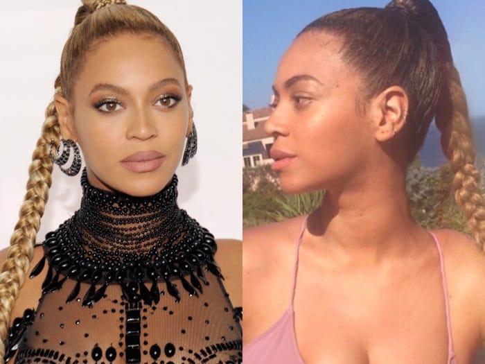 Beyonce_Celebrity No Makeup Story_2