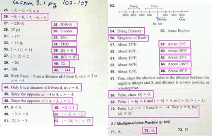 Mcdougal littell math course 3 practice workbook answers
