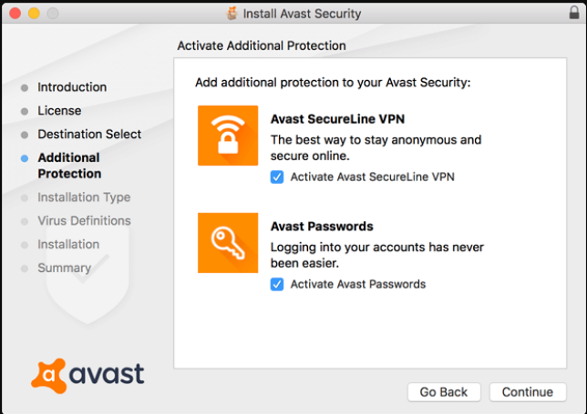 Install Avast Security