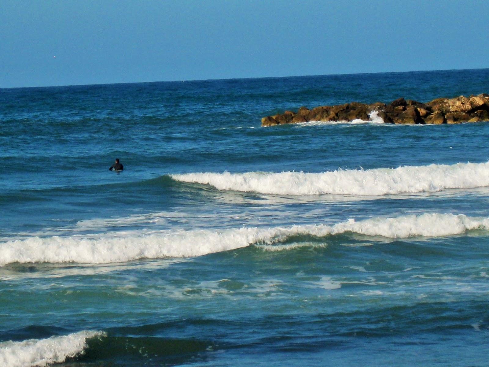 Осенее море. Штормит
