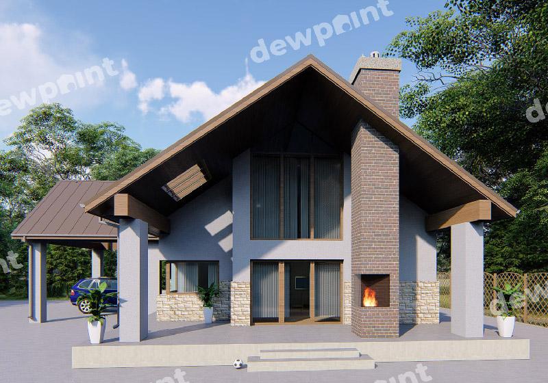 Необычные проекты домов – оригинальные и нестандартные проекты в современном строительстве дома, фото-1