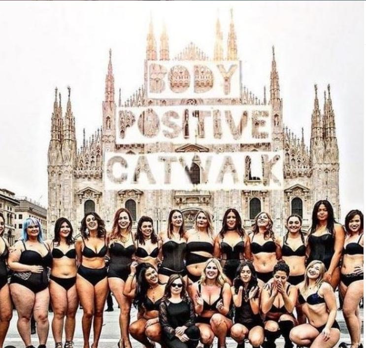 Body positive catwalk - Laura Bioschi