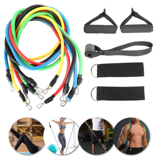Fitness Latex Pull Rope Resistance Bands