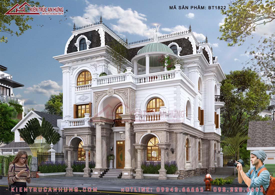 kiến trúc cổ điển nhưng vẫn giữ được nét tráng lệ mà không đem lại cảm giác rối mắt hay rườm rà